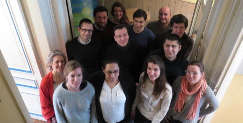 Opsio : L'équipe - Article dans la Voix du Nord